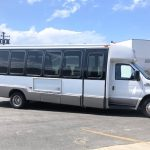 Ford E450 24 passenger charter shuttle coach bus for sale - Diesel 2