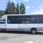Ford E450 24 passenger charter shuttle coach bus for sale - Diesel 3