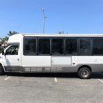 Ford E450 24 passenger charter shuttle coach bus for sale - Diesel 3