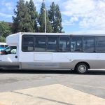 Ford E550 28 passenger charter shuttle coach bus for sale - Diesel 3