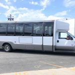 Ford E550 28 passenger charter shuttle coach bus for sale - Diesel 2