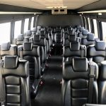 Ford E550 28 passenger charter shuttle coach bus for sale - Diesel 6
