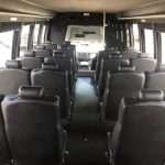 Ford E550 28 passenger charter shuttle coach bus for sale - Diesel 7
