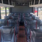 Ford E450 21 passenger charter shuttle coach bus for sale - Gas 6
