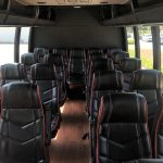 Ford E450 22 passenger charter shuttle coach bus for sale - Gas 6