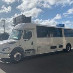 Freightliner S2C 37 passenger charter shuttle coach bus for sale - Diesel 4