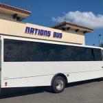 Freightliner S2C 37 passenger charter shuttle coach bus for sale - Diesel 4