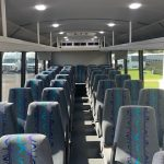 Freightliner S2C 37 passenger charter shuttle coach bus for sale - Diesel 5