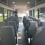 Freightliner S2C 37 passenger charter shuttle coach bus for sale - Diesel 6