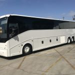 Van Hool  56 passenger charter shuttle coach bus for sale - Diesel 3