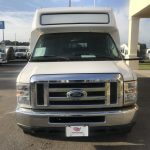 Ford E450 18 passenger charter shuttle coach bus for sale - Gas 2