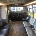 Ford E450 18 passenger charter shuttle coach bus for sale - Gas 7