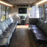 Ford E450 18 passenger charter shuttle coach bus for sale - Gas 8