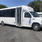 Ford E450 27 passenger charter shuttle coach bus for sale - Gas 1