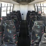Ford E450 27 passenger charter shuttle coach bus for sale - Gas 9