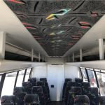 Ford E450 27 passenger charter shuttle coach bus for sale - Gas 10