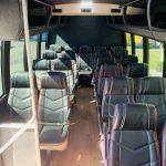 Ford E450 22 passenger charter shuttle coach bus for sale - Gas 6