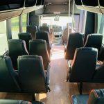 Ford E450 22 passenger charter shuttle coach bus for sale - Gas 7