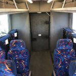 Chevy C5500 36 passenger charter shuttle coach bus for sale - Diesel 12
