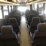 Chevy C5500 36 passenger charter shuttle coach bus for sale - Diesel 15