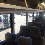 Chevy C5500 36 passenger charter shuttle coach bus for sale - Diesel 14