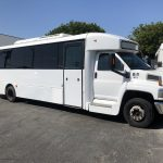 Chevy C5500 36 passenger charter shuttle coach bus for sale - Diesel 2