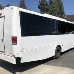 Chevy C5500 36 passenger charter shuttle coach bus for sale - Diesel 7
