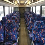 Chevy C5500 36 passenger charter shuttle coach bus for sale - Diesel 11