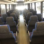 Chevy C5500 36 passenger charter shuttle coach bus for sale - Diesel 13