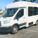 Ford Transit 9 passenger charter shuttle coach bus for sale - Gas 3