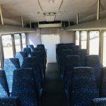 International UC 32 passenger charter shuttle coach bus for sale - Diesel 6
