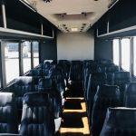 Ford F550 28 passenger charter shuttle coach bus for sale - Diesel 6