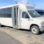 Ford E450 27 passenger charter shuttle coach bus for sale - Gas 1