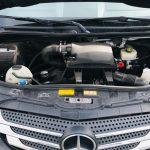 Mercedes 3500 15 passenger charter shuttle coach bus for sale - Diesel 9