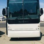 Van Hool  56 passenger charter shuttle coach bus for sale - Diesel 3