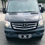 Mercedes 3500 15 passenger charter shuttle coach bus for sale - Diesel 2