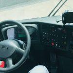 Van Hool  56 passenger charter shuttle coach bus for sale - Diesel 8
