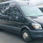 Mercedes 3500 15 passenger charter shuttle coach bus for sale - Diesel 1