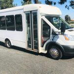 Ford Transit 9 passenger charter shuttle coach bus for sale - Gas 1