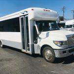 International UC 32 passenger charter shuttle coach bus for sale - Diesel 1