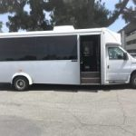 Ford E450 22 passenger charter shuttle coach bus for sale - Gas 3
