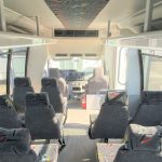 Ford E450 27 passenger charter shuttle coach bus for sale - Gas 7