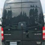 Mercedes 3500 15 passenger charter shuttle coach bus for sale - Diesel 4