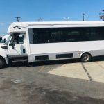 International UC 32 passenger charter shuttle coach bus for sale - Diesel 5