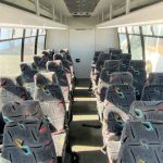Ford E450 27 passenger charter shuttle coach bus for sale - Gas 6