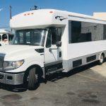 International UC 32 passenger charter shuttle coach bus for sale - Diesel 3