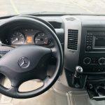 Mercedes 3500 15 passenger charter shuttle coach bus for sale - Diesel 8