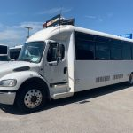 Freightliner M2 36 passenger charter shuttle coach bus for sale - Diesel 1