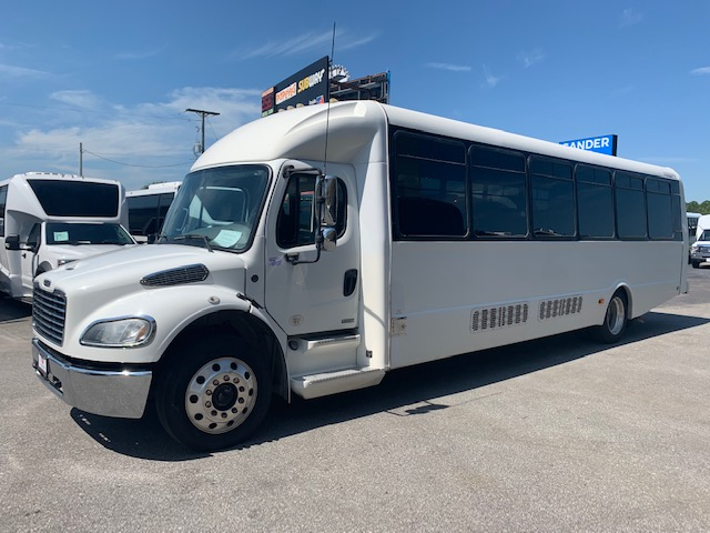Freightliner M2 36 passenger charter shuttle coach bus for sale - Diesel
