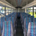 Freightliner M2 36 passenger charter shuttle coach bus for sale - Diesel 3